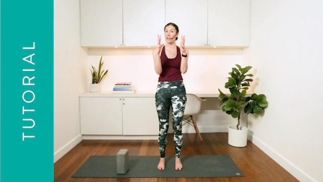 Tutorial: Benefits of Mountain Pose (10 min) –with Rachel Scott