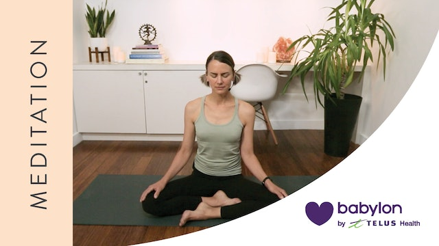 Meditation for Emotional Healing (21 min) — with Lisa Sanson