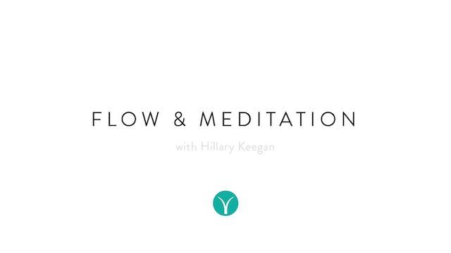 Flow & Meditation (50 min) - with Hil...