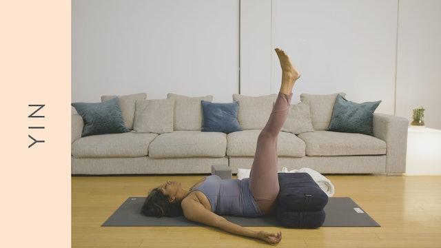 Yin Yoga and Meditation for Sleep (25 min) — with Farzana Jaffer Jeraj