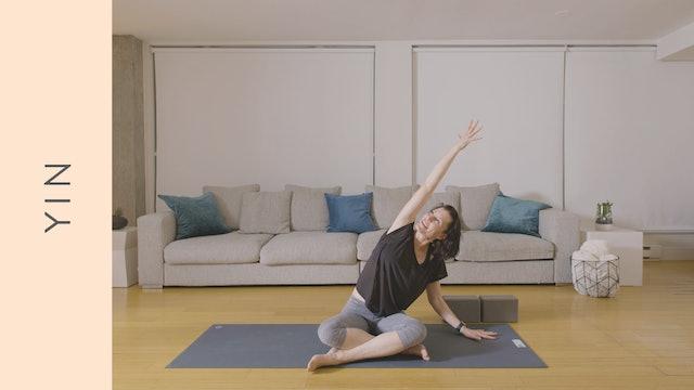 Yin Yoga and Meditation (40 min) — with Rachel Scott
