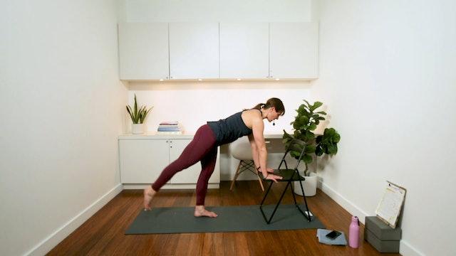 Fun Fitness: Chair Workout (45 min) - with Hana Weinwurm