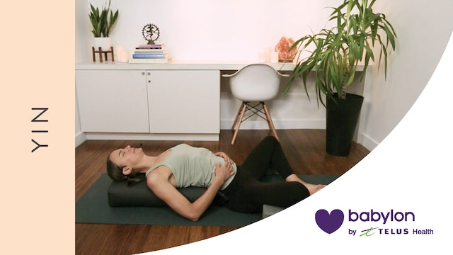 Yin Yoga for Relaxation (29 min) — with Lisa Sanson