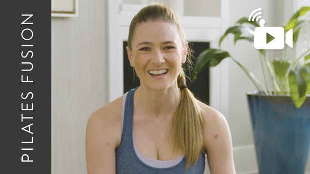 Live Replay: Pilates Fusion from Home...