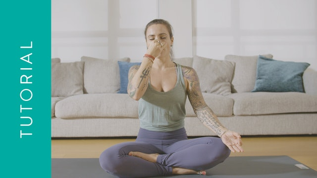 Tutorial: Alternate Nose Breathing — with Crystal Rainbow Borrelli
