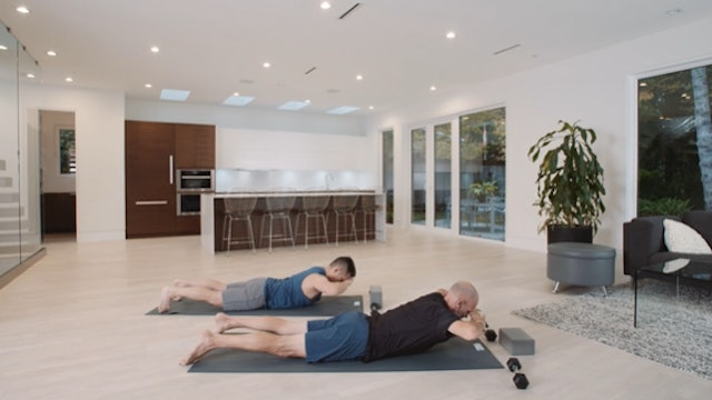 Core Fusion: Upper Body (30 min) – with Rich Reynolds