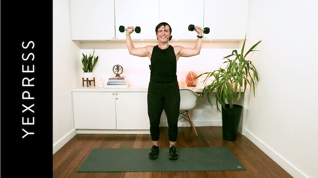 YExpress Upper Body (20 min) — with Naomi Joy Gallagher