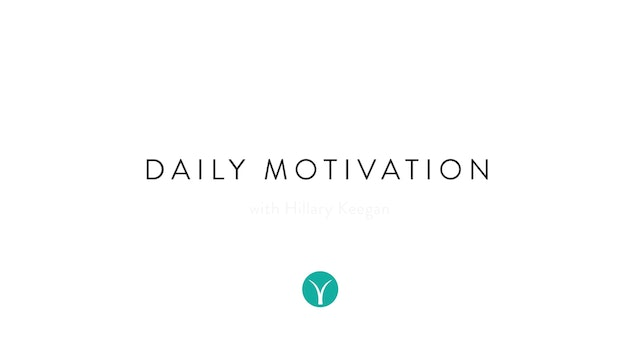 Daily Motivation: Everything Happens for a Reason (8 min) - with Hillary Keegan