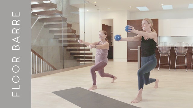 Barre Bootcamp: Abs & Arms (30 min) — with Sarah Devlin