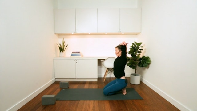 Wellbeing Hatha Yoga for Working from Home (20 mins) — with Rachel Scott