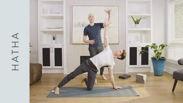 Gentle Hatha Yoga (30 min) — with Mar...