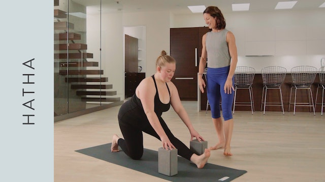 Hatha Yoga for Tight Hips (45 min) — with Katherine Moore