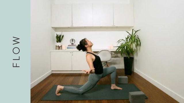 Gentle Heart Centered Flow Yoga (30 min) — with Regina Zhen [with Music]
