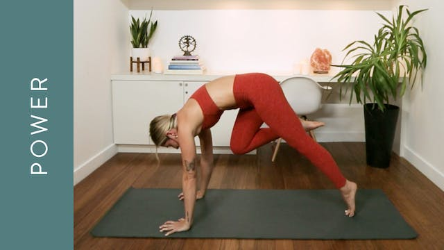 Power Yoga: Deep Strength, Slow Trans...