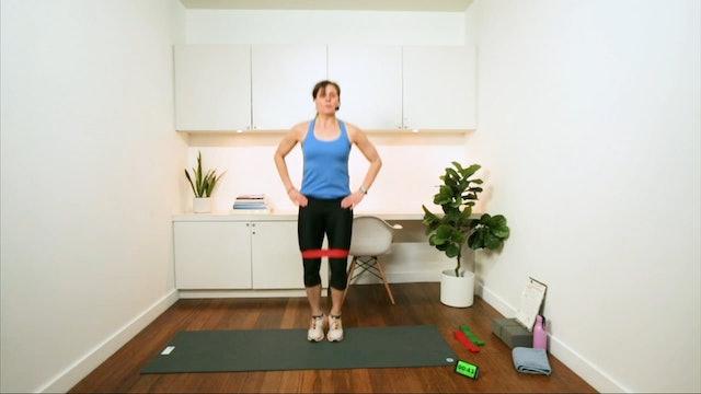 Total Body Mini Band Workout (30 min) - with Hana Weinwurm