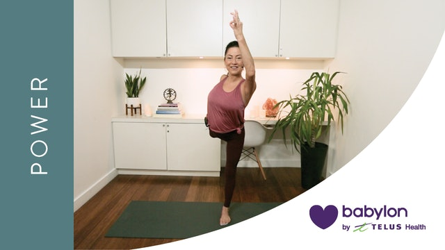 Power Yoga for Positive Energy (20 min) — with Hillary Keegan