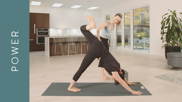 Power Yoga for Powerful Hips (45 min)...