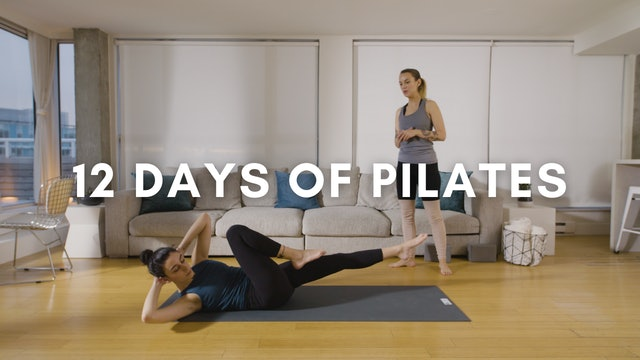 12 Days of Pilates (All Levels)