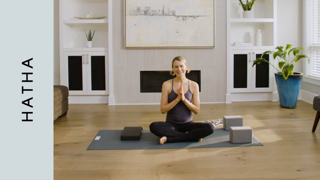 Live Replay: Hatha Yoga for Staying P...