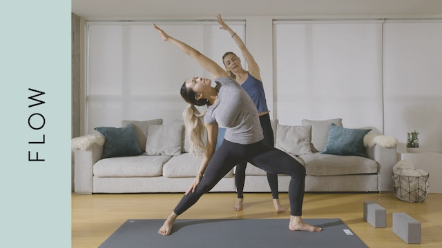 Flow Yoga for Beginners (20 min) — with Jayme Burke