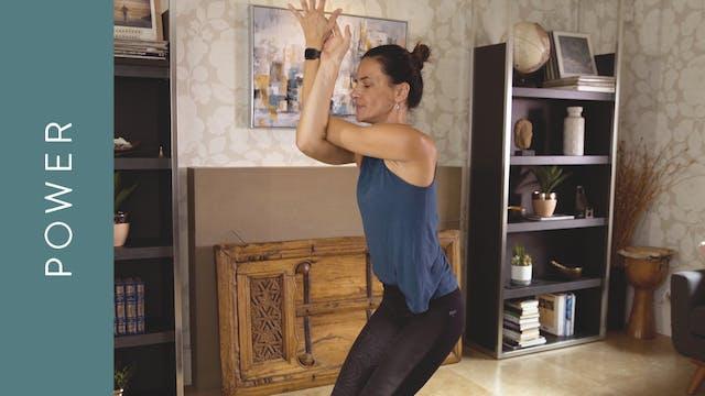 Power Yoga (15 min) — with Jasmina Eg...