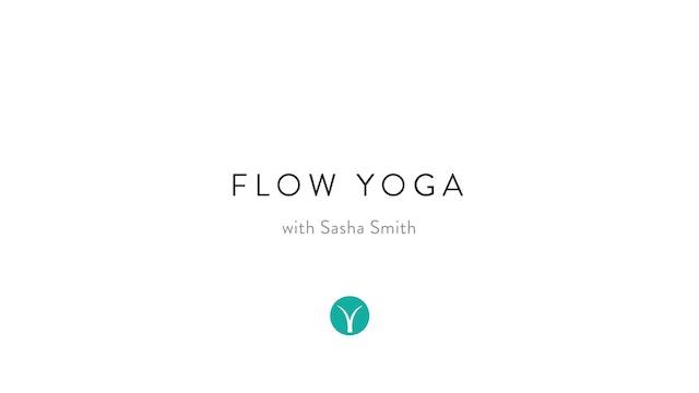 Morning Energy Flow (22 min) - with Sasha Smith