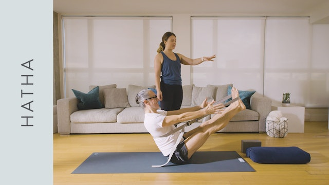 Strong Hatha Yoga: with Props (60 min) — with Kate Gillespie