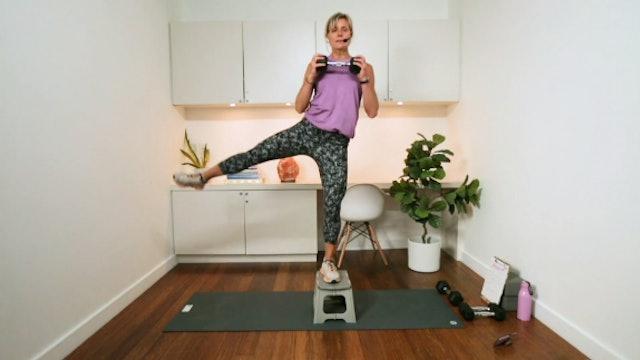 Step Up Workout (20 min) - with Hana Weinwurm