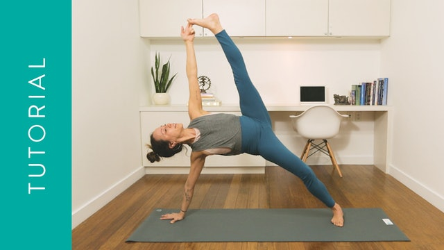 Tutorial: How to do Side Plank (5 min) — with Mari Dickey