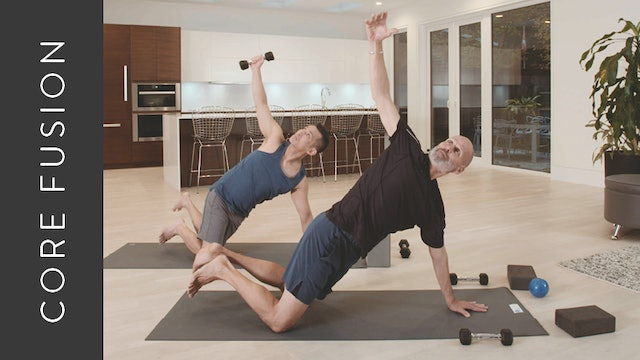 Core Fusion: Full Body (30 min) – with Rich Reynolds