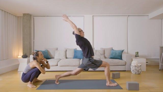 Power Yoga: Hip Flexor Love (30 min) — with Mari Dickey
