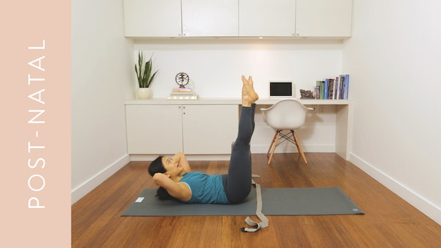 Strengthen Your Core: Post-Natal (15 min) — with Quynh Mi