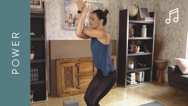 Power Yoga (15 min) — with Jasmina Egeler [WITH MUSIC]