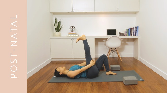 Flow Yoga: Post-Natal While Baby Sleeps (15 min) — with Quynh Mi