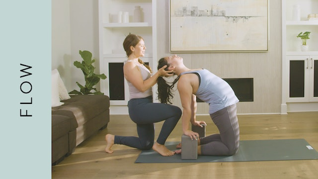 Flow Yoga: Slow, Full Body Practice (50 min) — with Kate Gillespie