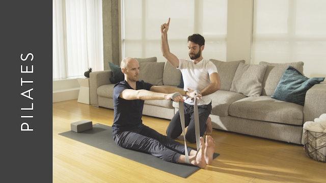 Pilates Fusion (20 min) — with Juan Villegas