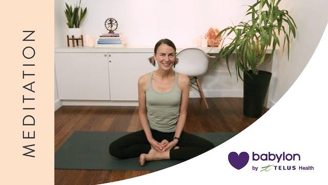 Meditation for Managing Stress (20 mi...