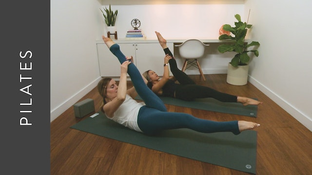 Mat Pilates: Intermediate Abs Practice (30 min) — with Kelly Colleen