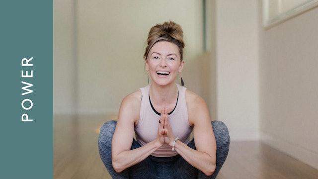 Dynamic Power Yoga (60 min) - with Jayme Burke