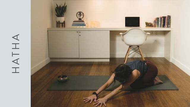 Slow Hatha Yoga for Winding Down (10 ...