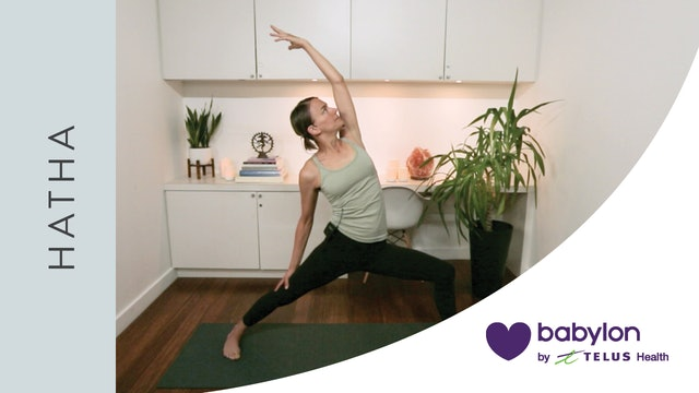 Hatha Yoga for Emotional Resilience (21 min) — with Lisa Sanson