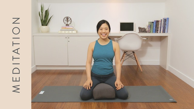 Meditation: How to Calm Anxiety with Breath (10 min)  — with Quynh Mi