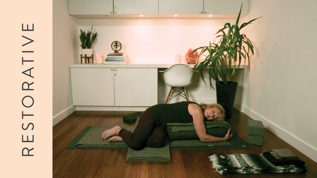 Restorative Yoga for Anxiety (40 min) – with Annabel Kershaw