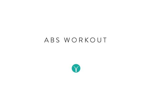 Abs On Fire (20 min) - with Alison Lloyd-Nijjar