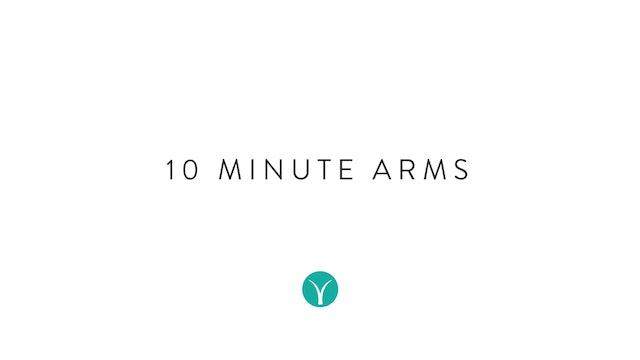 10 Minute Tone: Arms (10 min) - with Hana Weinwurm