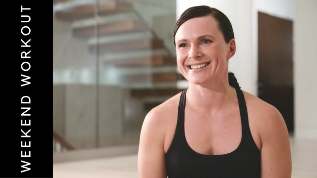 Live Stream Core Fusion Weekend Workout (60 min) - with Naomi Joy Gallagher