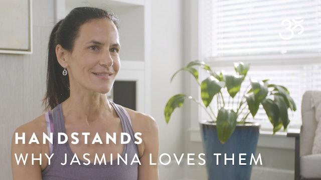 Handstands: Here's Why Jasmina Egeler Loves Them