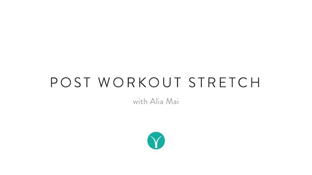 Post Workout Stretch (15 min) - with ...