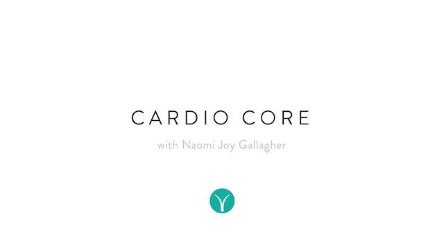 Sweaty Cardio Core Circuit (33 min) - with Naomi Joy Gallagher