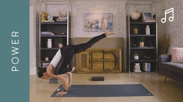 Power Yoga (15 min) — with Jasmina Egeler - Intermediate